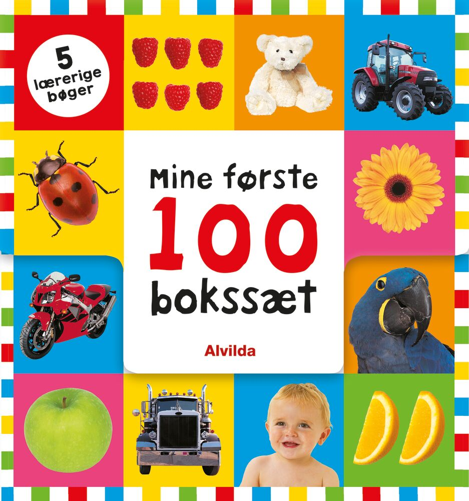 Image of   Alvilda Mine første 100 - Bokssæt