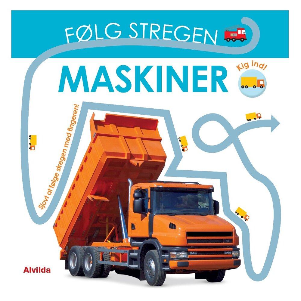 Image of   Alvilda Følg Stregen - Maskiner