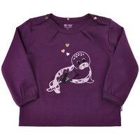 T-Shirt Langærmet Med Print - 7760