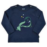 T-Shirt Langærmet Med Print - 7721