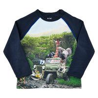 T-Shirt Langærmet Med Print - 7997
