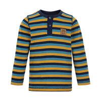 Stribet T-shirt Langærmet - 7555
