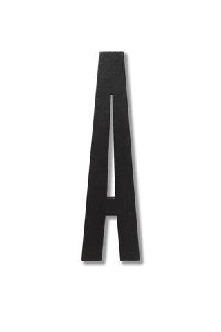 Træbogstaver Fra A - Å - Sort