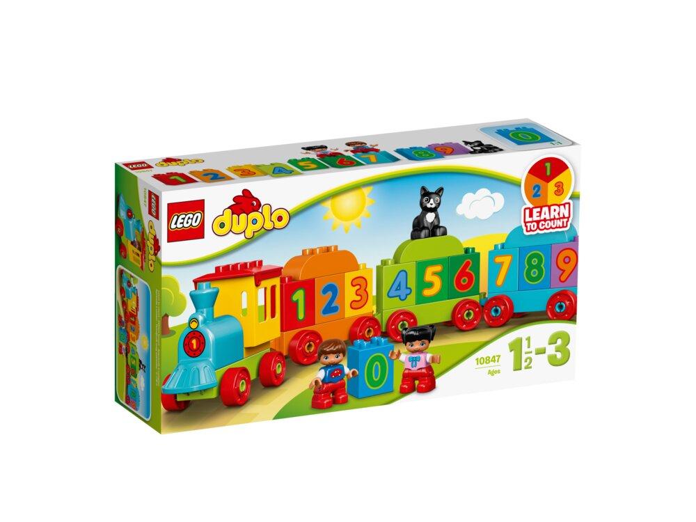 Lego Duplo Tog Med Tal 10847 Babysamdk