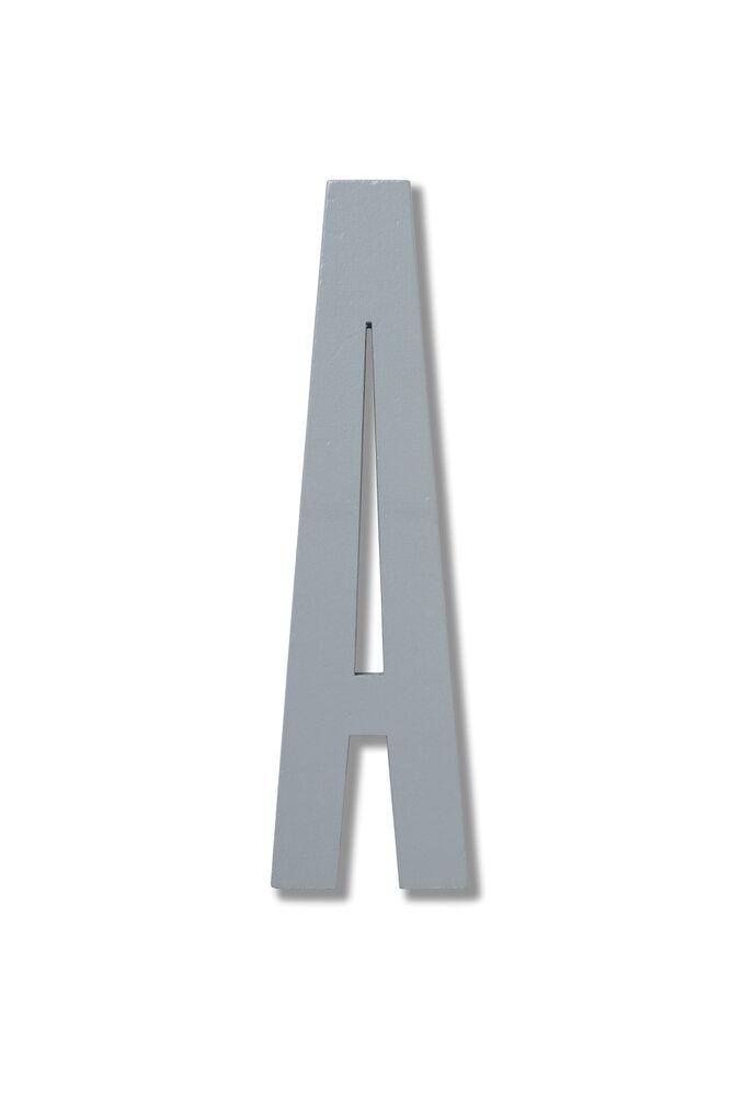 Image of   Design Letters Bogstaver Fra A - Å - Grå