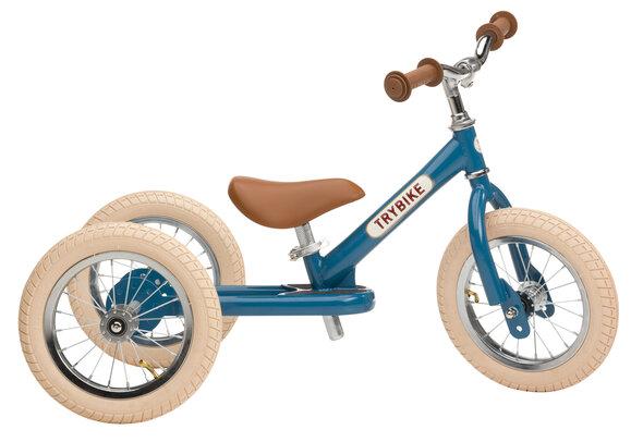 Trybike 3-Hjul, Vintage Blå