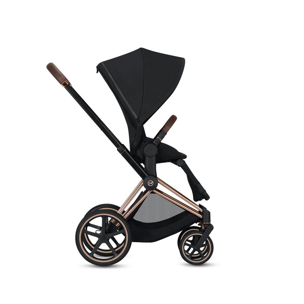 Image of   Cybex Priam Lux Seat Premium Black + Rosegold Stel