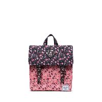 Survey Rygsæk, Floral Black/Pink