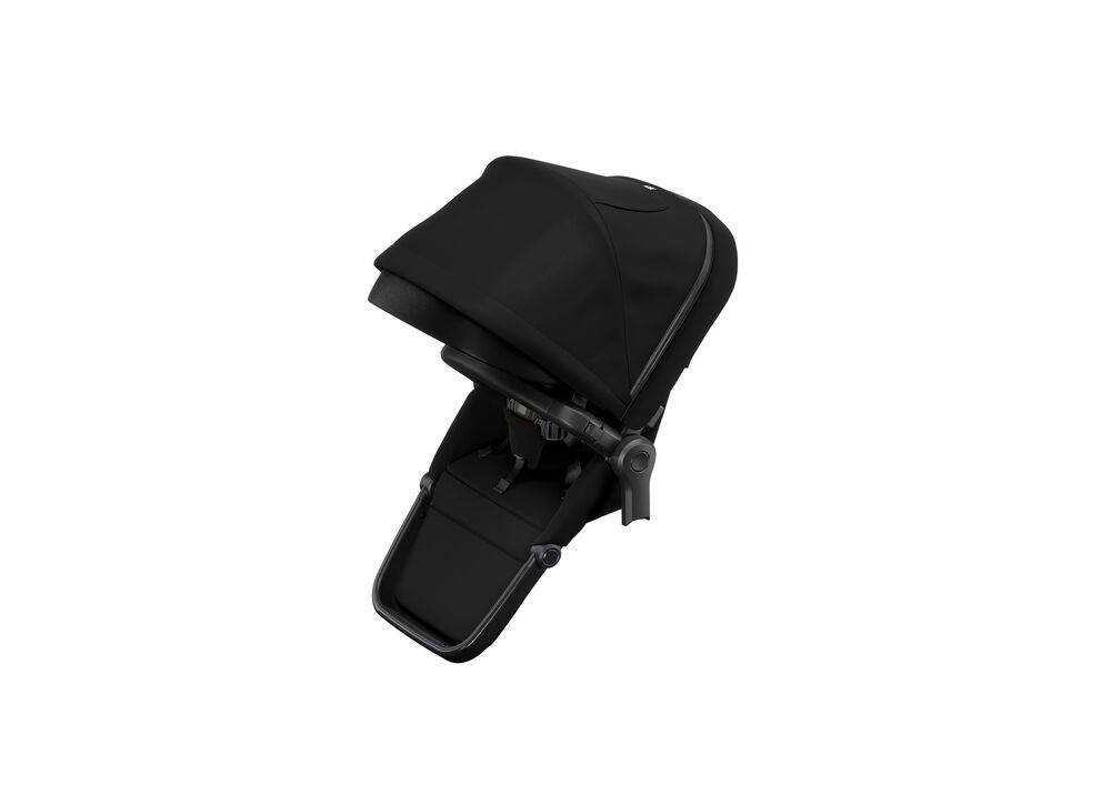 Image of   Thule Sleek Siblingseat, Black On Black
