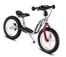 LR 1L BR Løbecykel, Sølv/rød