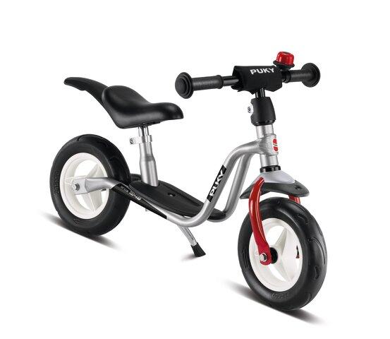 LRM Plus Løbecykel, Sølv/rød