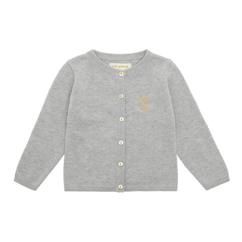 Carrie Cardigan - Grey Melange