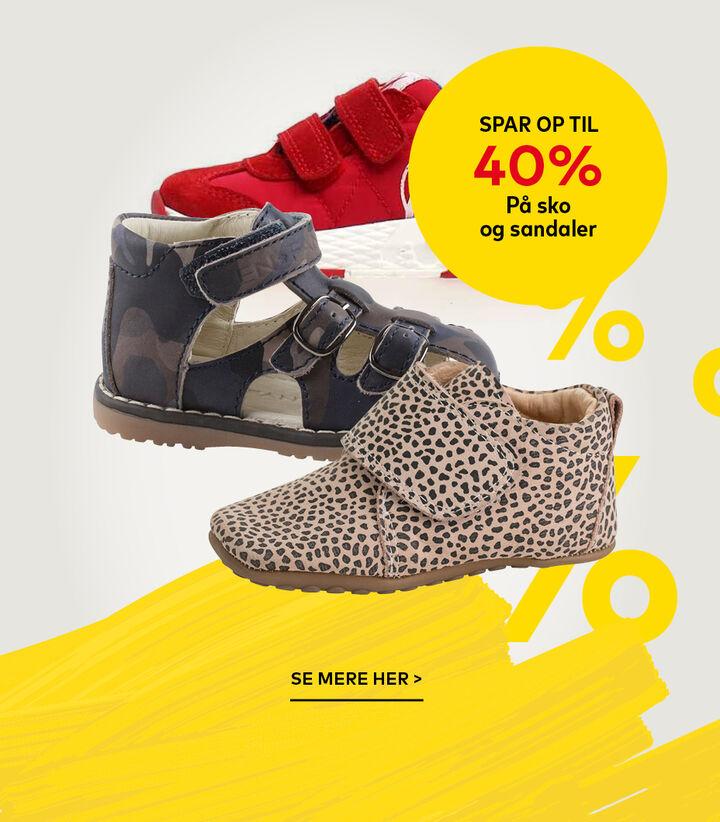 Sko og sandaler til børn