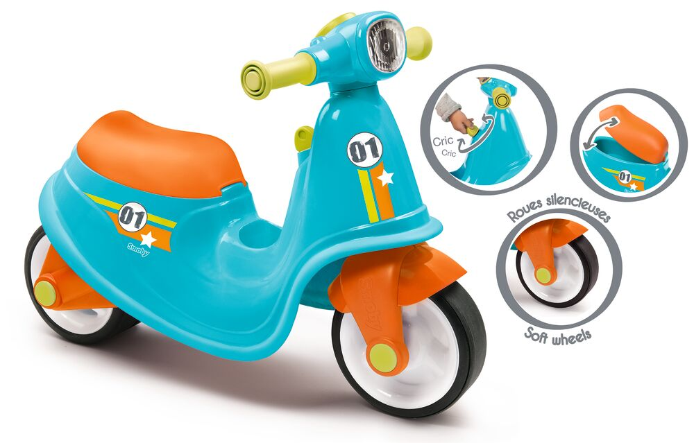 Image of Smoby Scooter Til At Sidde På - Blå (7cbfb371-fad8-40e2-94cd-d0f1b1b94a9b)