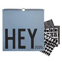 Væg Kalendar, 2020 Blå