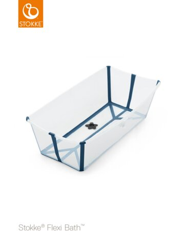 FlexiBath XL, Transperant Blue