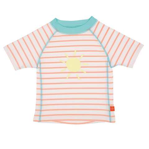 Badebluse UV - Korte Ærmer - Peach
