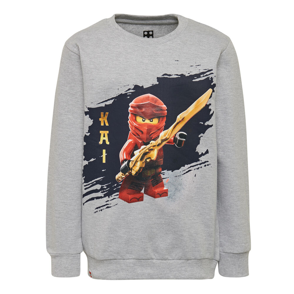 LEGO Wear Cm-50324 Sweatshirt - 921 Grey Melange thumbnail