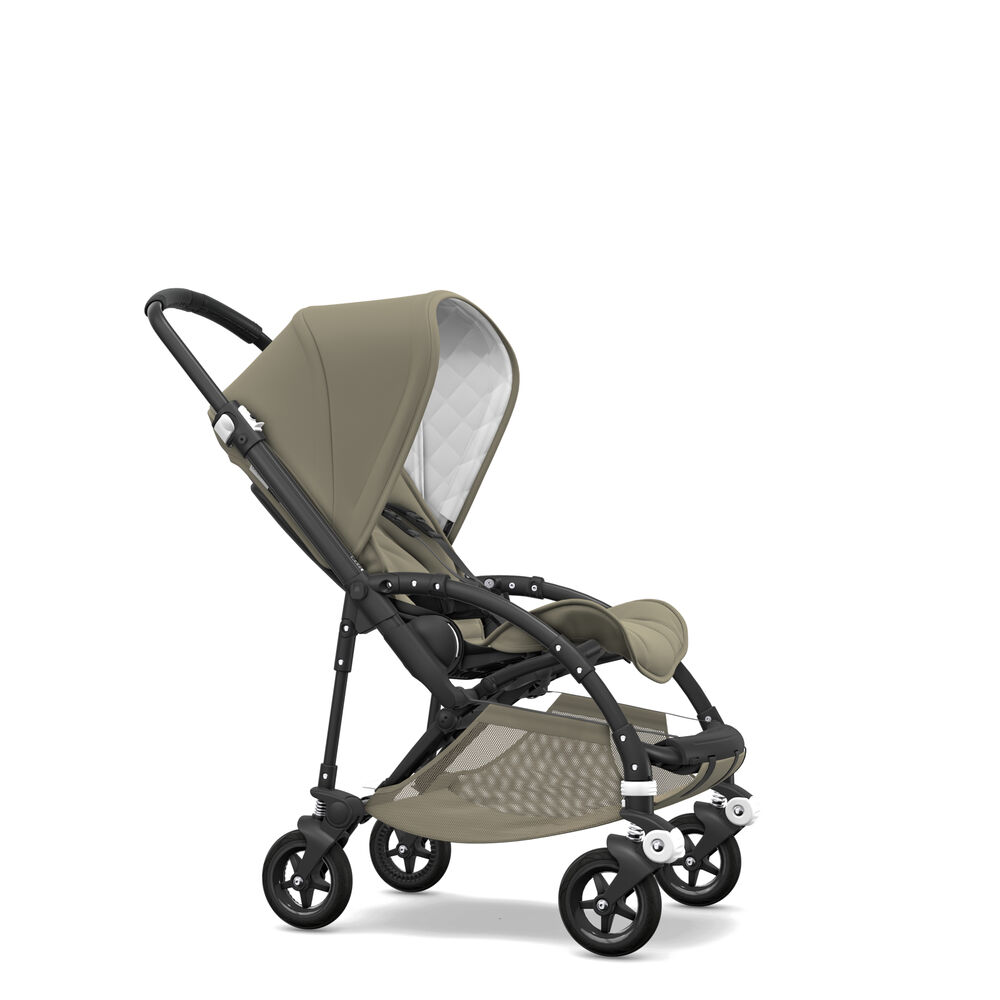 Image of   Bugaboo Bee5 Classic Complete - Black/Khaki