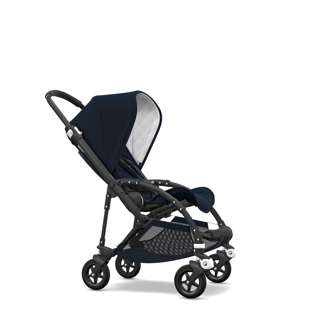 Image of   Bugaboo Bee5 Classic Complete - Black/Dark Navy