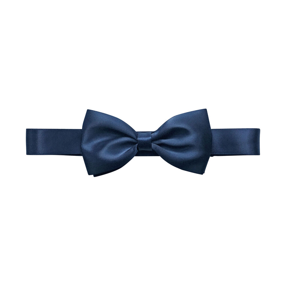 Image of   Navy satin butterfly fra Milledeux® - 0-12 år - 370