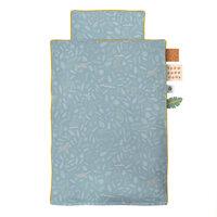 Sengetøj Baby, Wildlife, Eucalyptus Blue