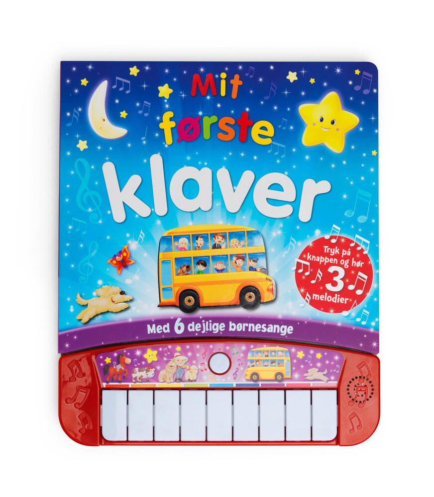Karrusel Mit første klaver - Børnebøger - Karrusel