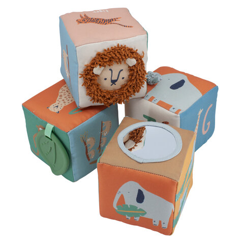 Babystofklodser 4 Stk, Wildlife