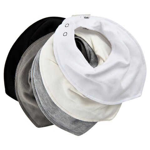 Tørklædesmæk - Ensfarvet 5-Pak - 100