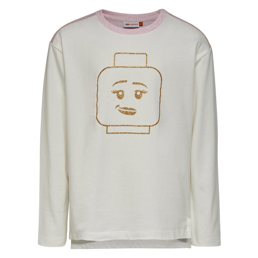 LEGO Wear Tanya 706 - Langærmet T-Shirt - Råhvid - Overdele - LEGO Wear