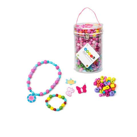 450 Farvede Perler