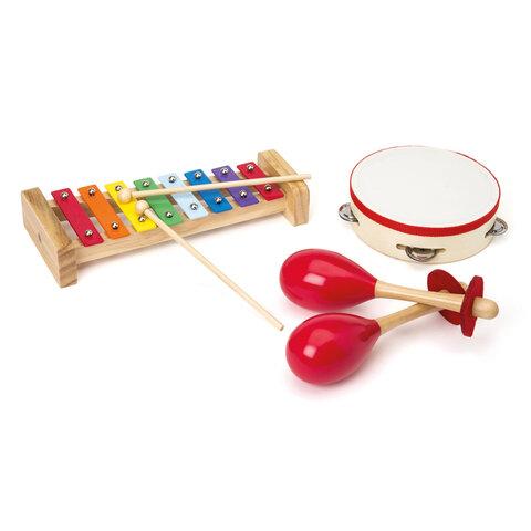 3 Musikinstrumenter