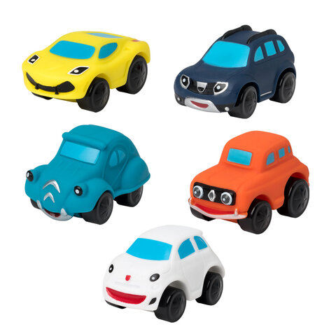 5 Bløde og Lette Biler