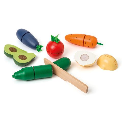 6 Trægrøntsager Med Trækniv
