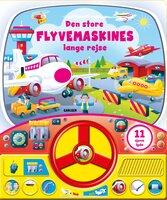 Den Store Flyvemaskines Lange Rejse - Med Lyd og Rat
