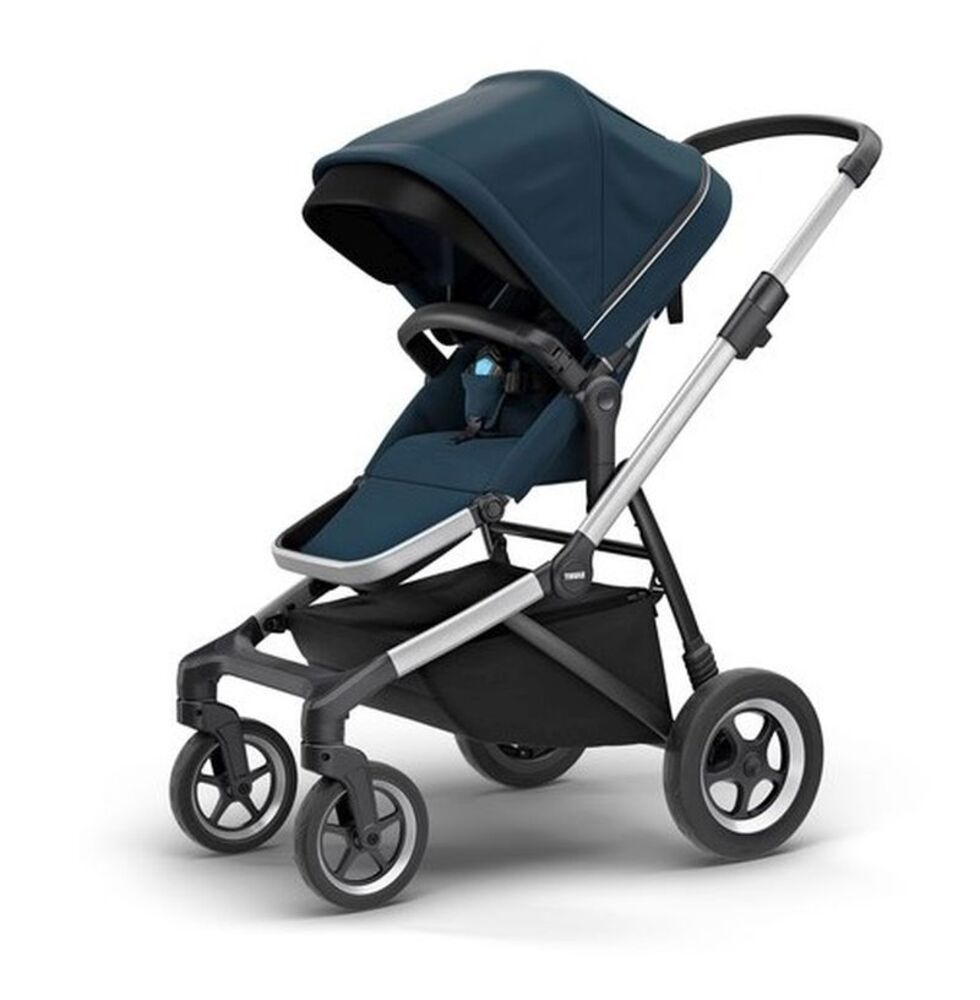 Image of   Thule Sleek Klapvogn - Navy Blue