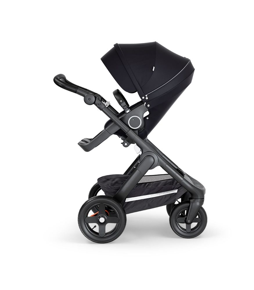 Image of   Stokke® Trailz Klapvogn Terrænhjul - Black/Sort styr