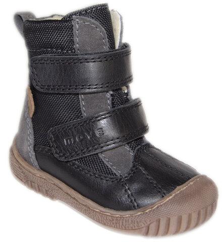 Tex Støvle Med Velcro - 190 Sort
