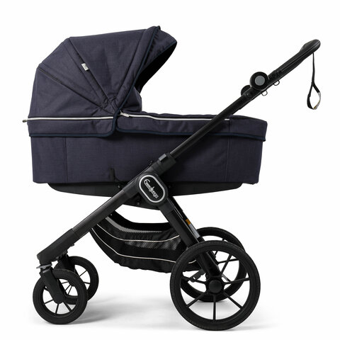 NXT90B Lounge Navy ECO Med Sort Stel