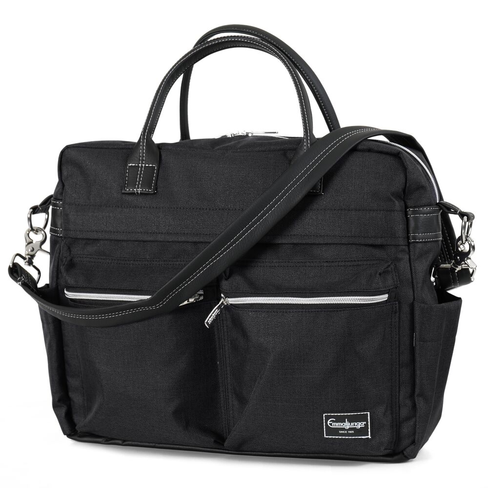 Image of   Emmaljunga Pusletaske Travel Lounge Black