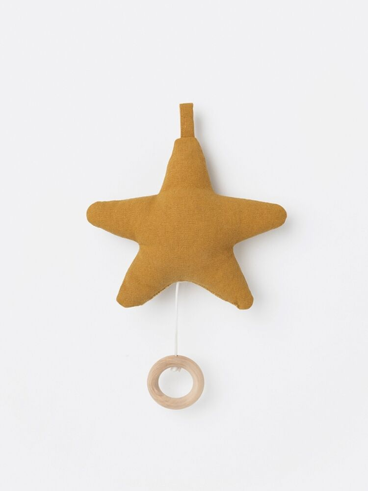 Image of   ferm Living Star Musikuro - Mustard