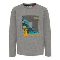 Lwtiger 787 T-Shirt - 921 Grey Melange