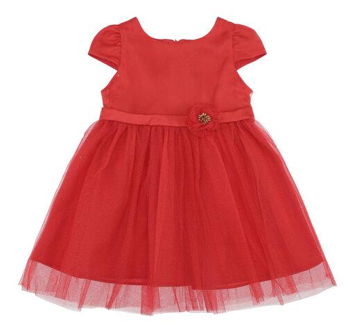 Babykjole - Rød
