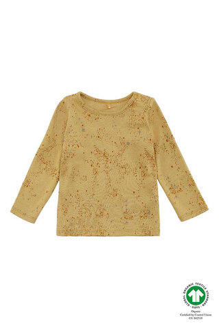 Baby Bella T-shirt - Fall Leaf, Mini Splash Yellow