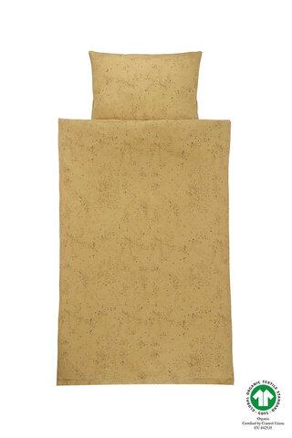Sengetøj Junior - Fall Leaf, Mini Splash Yellow