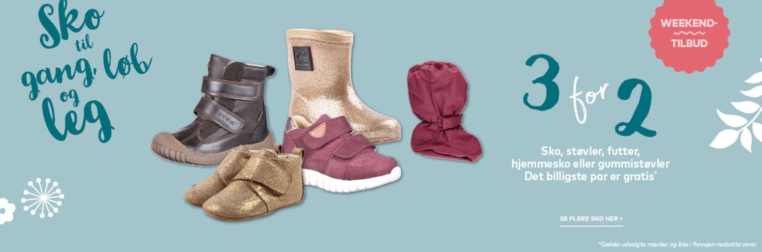 Støvler til børn tilbud