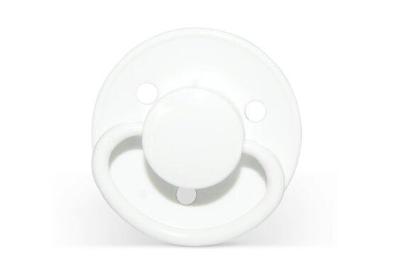 2 Pak. Silikonesutter - 6 Mdr + - Hvid