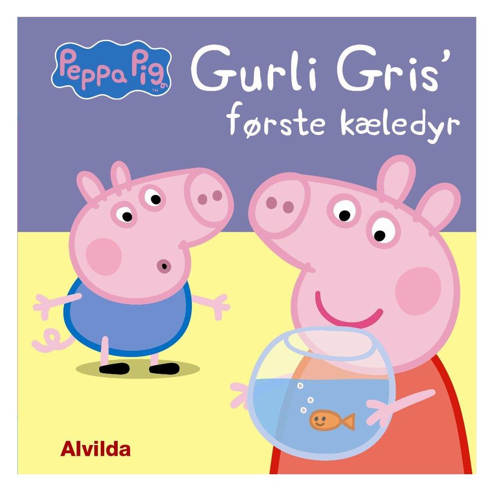 Image of   Alvilda Gurli Gris' Første Kæledyr
