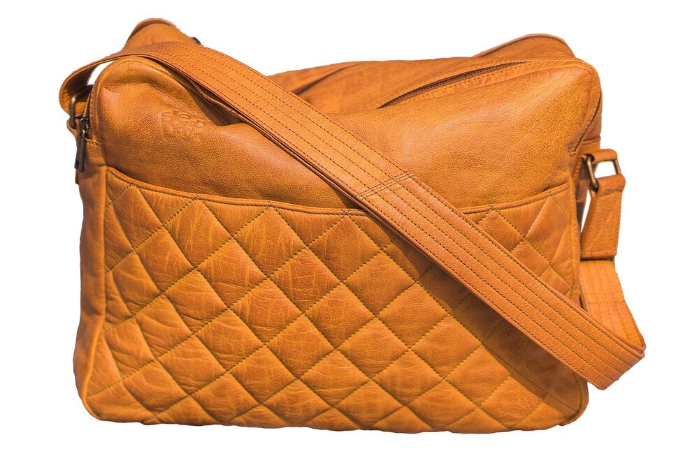 Image of   Sleepbag.dk The bag Pusletaske - Cognac