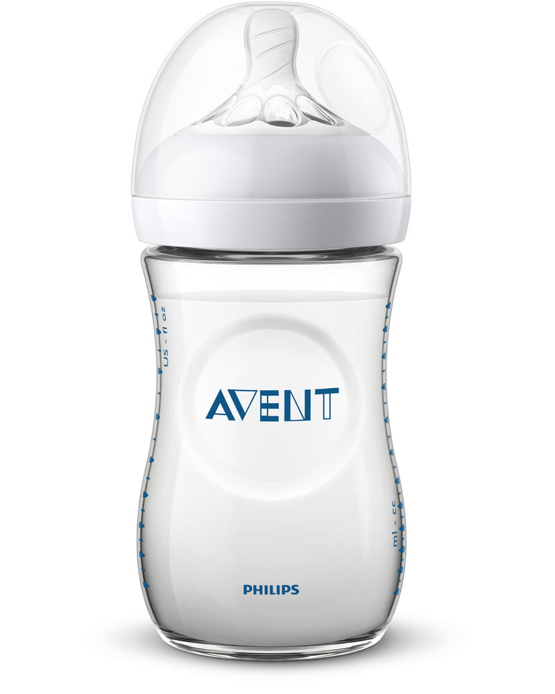 Image of   Philips Avent Sutteflaske NATURAL V2 260 ml